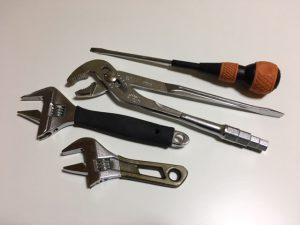 修理に必要な工具を用意しましょう