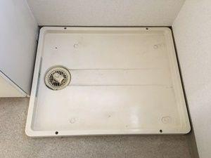 洗濯防水パンの排水口
