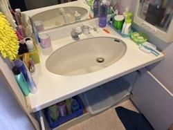 洗面台からの水漏れ