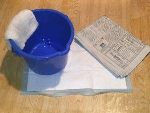 水漏れ時の応急処置
