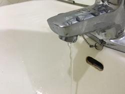 吐水口からの水漏れ